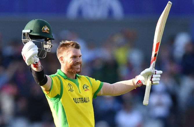 David Warner 122 South Africa Australia World Cup 45th Match Manchester cricket