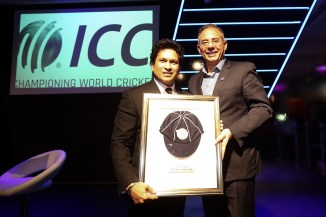 Sachin Tendulkar, Allan Donald and Cathryn Fitzpatrick inducted into ICC Hall of Fame cricket