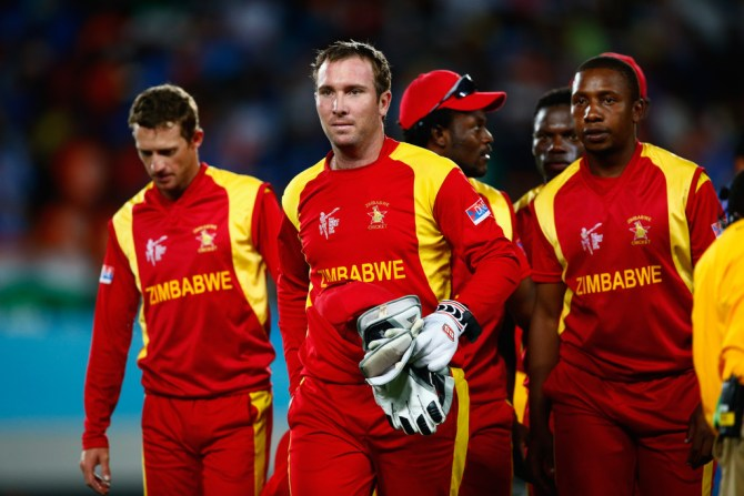 Zimbabwe have been banned from participating in ICC events after being suspended by the ICC cricket