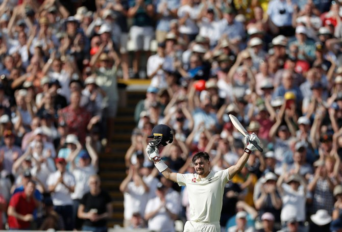 Rory Burns 125 not out England Australia 1st Ashes Test Day 2 Edgbaston cricket