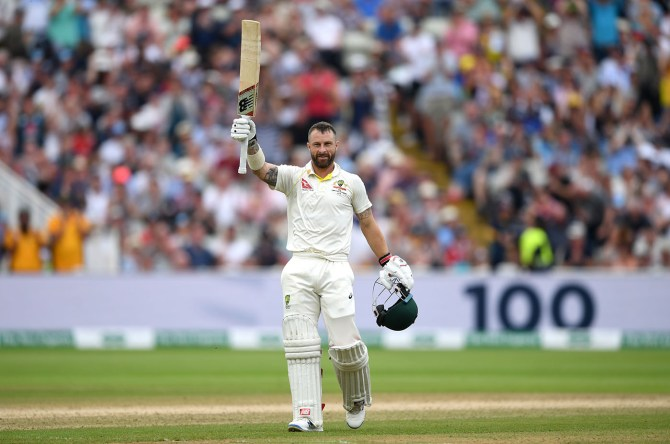 Matthew Wade 110 England Australia 1st Ashes Test Day 4 Edgbaston cricket