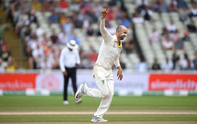 Nathan Lyon six wickets England Australia 1st Ashes Test Day 5 Edgbaston cricket