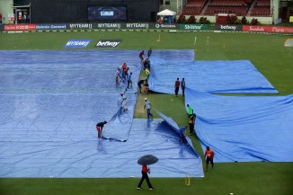 Heavy rain leads to first ODI between West Indies and India being washed out after 13 overs Guyana cricket