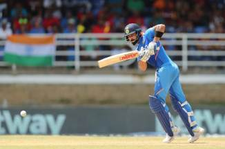 Virat Kohli 120 West Indies India 2nd ODI Trinidad cricket