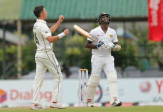 Trent Boult, Tim Southee take two wickets apiece Sri Lanka New Zealand 2nd Test Day 2 Colombo cricket