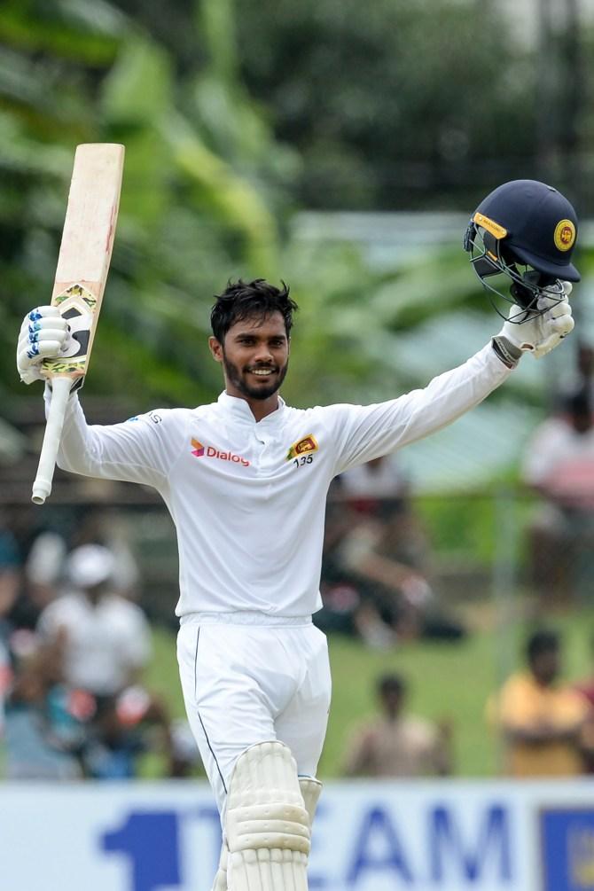 Dhananjaya de Silva 109 Sri Lanka New Zealand 2nd Test Day 3 Colombo cricket