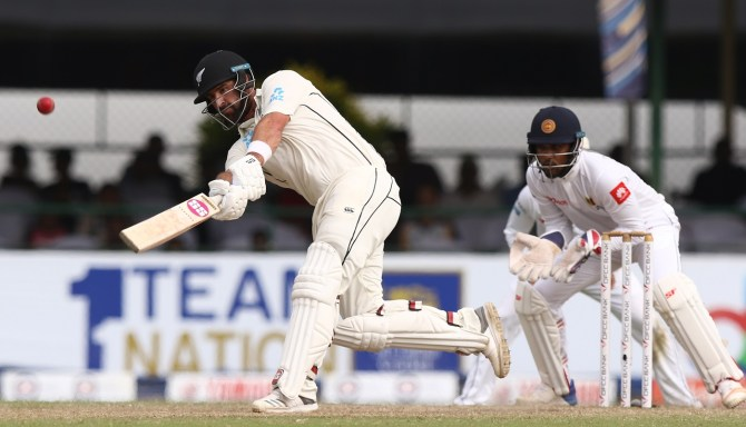 Colin de Grandhomme 83 not out Sri Lanka New Zealand 2nd Test Day 4 Colombo cricket