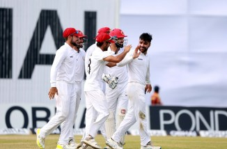Rashid Khan three wickets Bangladesh Afghanistan Only Test Day 4 Chattogram cricket