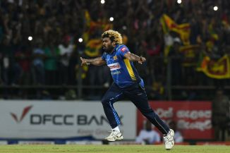 Lasith Malinga had a day to remember as he took a hat-trick, claimed four wickets in four ball, completed a five-wicket haul, snapped up his 100th wicket in Twenty20 Internationals and finished with his career-best figures in the format Sri Lanka New Zealand 3rd T20 Pallekele cricket
