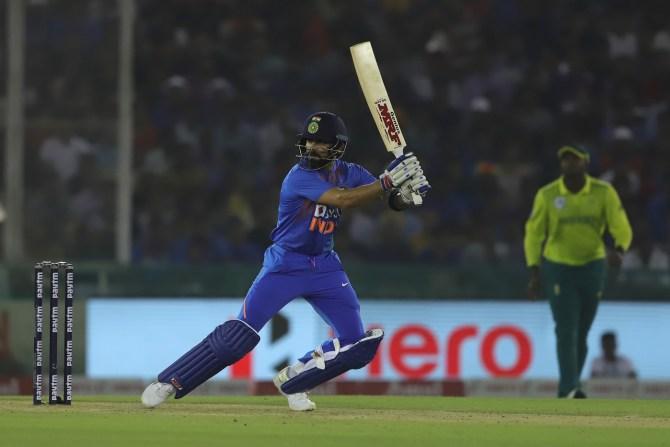 Virat Kohli 72 not out India South Africa 2nd T20 Mohali cricket