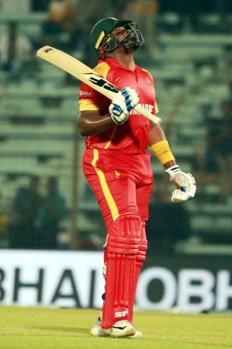 Hamilton Masakadza 71 Zimbabwe Afghanistan T20 tri-series 5th Match Chattogram cricket