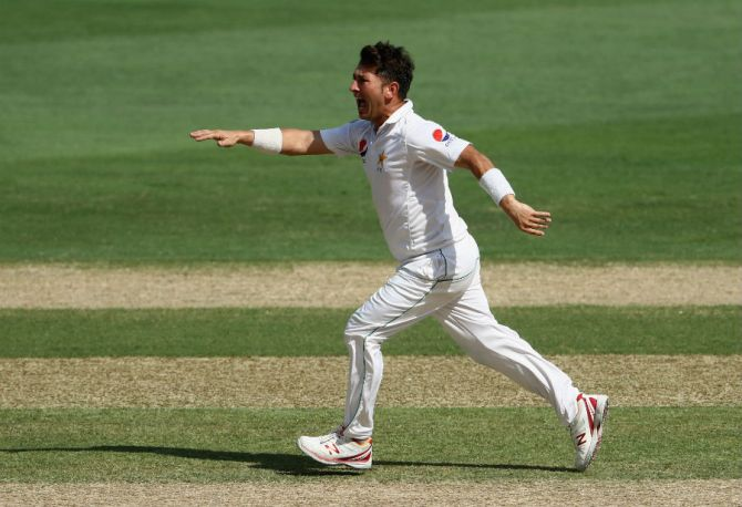 Yasir Shah became the first bowler in Test history to concede 200 runs or more in an innings on three separate occasions and also gave away the most runs by a bowler at the Gabba in Test cricket Pakistan cricket