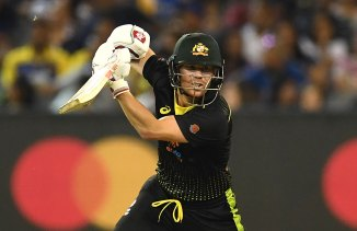 David Warner 57 not out Australia Sri Lanka 3rd T20 Melbourne cricket