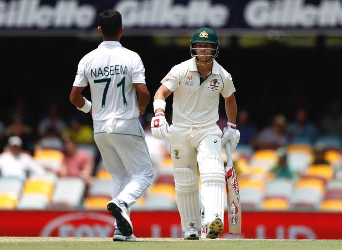 David Warner said that Naseem Shah reminded him of a young Mohammad Amir Australia Pakistan cricket
