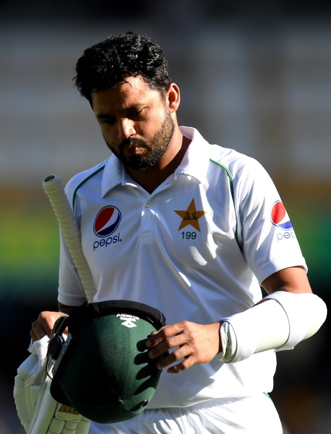 Azhar Ali admits Nathan Lyon caused the Pakistan batsmen a lot of problems on the 4th day of the 2nd Test in Adelaide Pakistan cricket