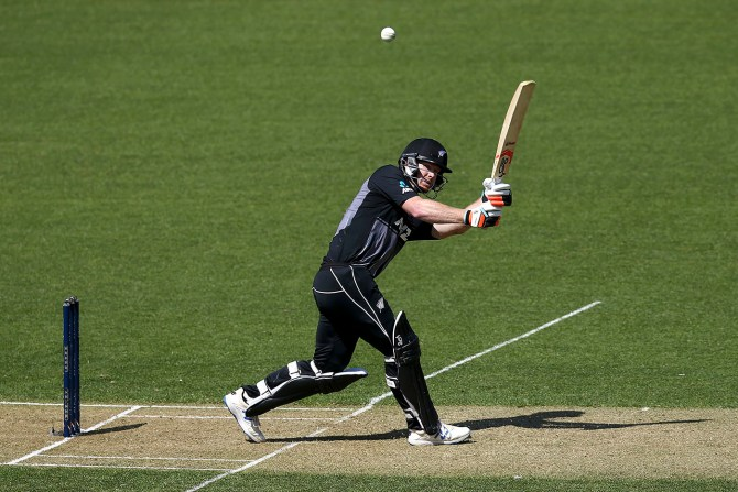 James Neesham 42 New Zealand England 2nd T20 Wellington cricket