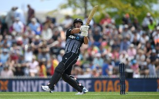 Colin de Grandhomme 55 New Zealand England 3rd T20 Nelson cricket