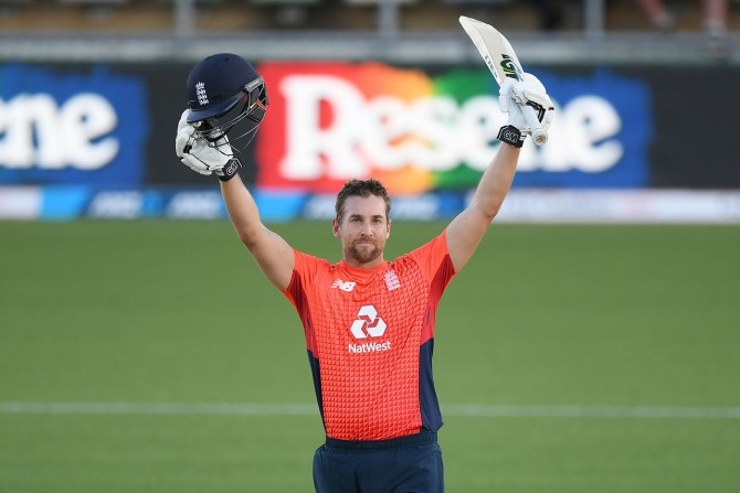 Dawid Malan 103 not out New Zealand England 4th T20 Napier cricket