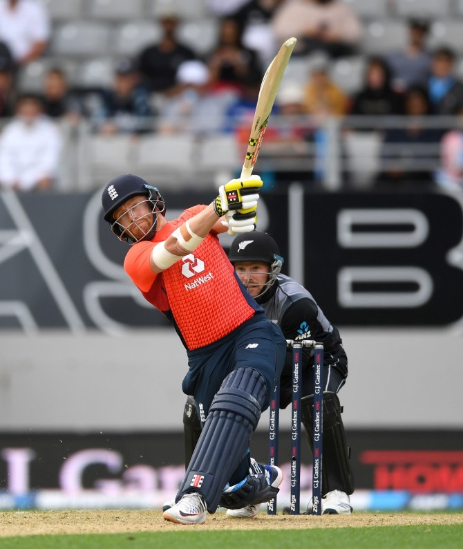 Jonny Bairstow 47 New Zealand England 5th T20 Auckland cricket