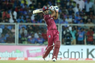 Lendl Simmons 67 not out India West Indies 2nd T20 Thiruvananthapuram cricket