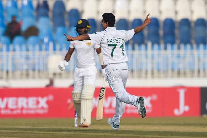 Waqar Younis impressed with Naseem Shah, Shaheen Shah Afridi and Mohammad Abbas' performance in the Test series against Sri Lanka Pakistan cricket