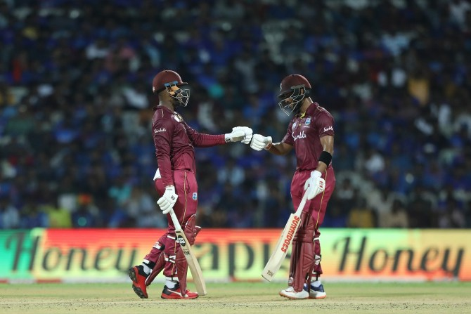 Shimron Hetmyer 139 Shai Hope 102 not out India West Indies 1st ODI Chennai cricket