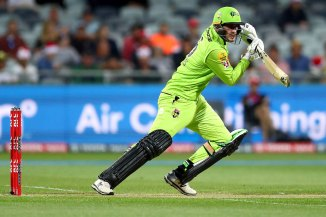 Alex Hales 68 Sydney Thunder Melbourne Renegades Big Bash League BBL 3rd Match cricket
