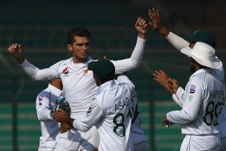 Shaheen Shah Afridi thanked God after taking his maiden five-wicket haul in Test cricket Pakistan