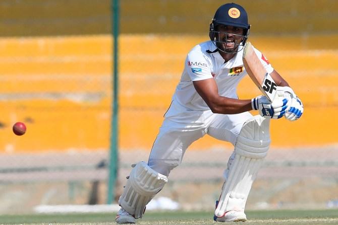 Dinesh Chandimal 74 Pakistan Sri Lanka 2nd Test Day 2 Karachi cricket