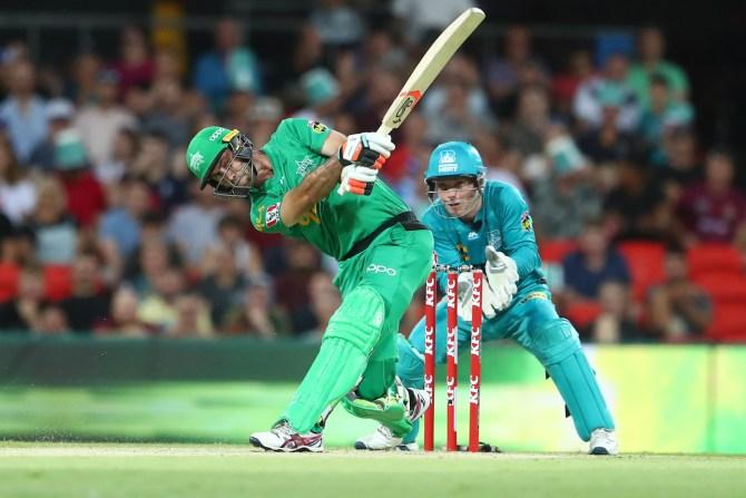Glenn Maxwell 83 Melbourne Stars Brisbane Heat Big Bash League BBL cricket