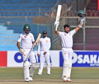 A photo featuring Azhar Ali was named Somerset's photo of the year for 2019 Pakistan cricket
