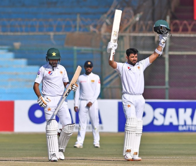 Azhar Ali 118 Pakistan Sri Lanka 2nd Test Day 4 Karachi cricket