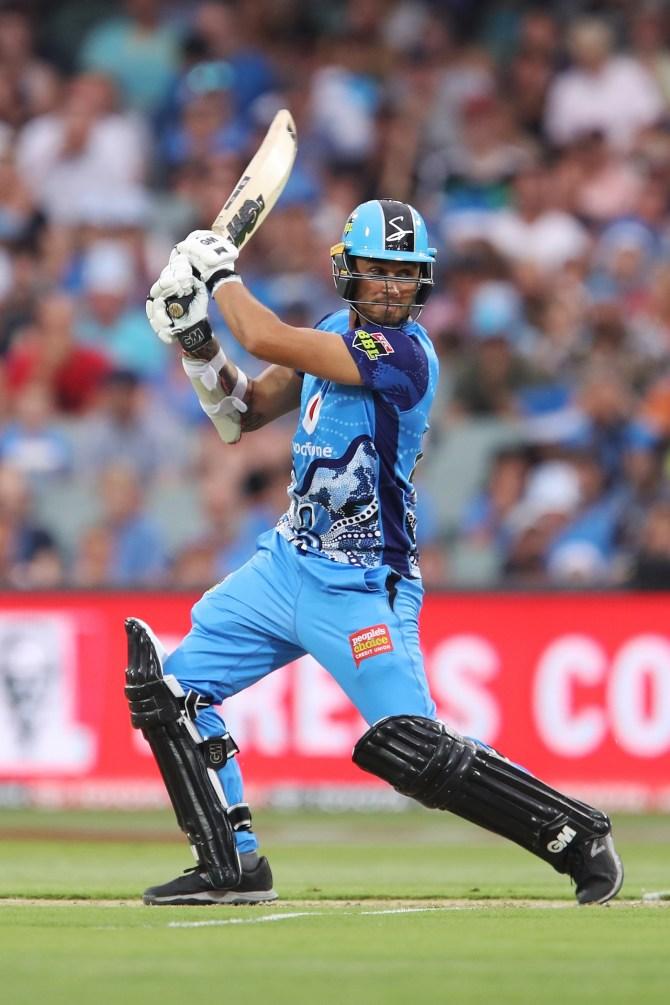 Jake Weatherald 83 Adelaide Strikers Perth Scorchers Big Bash League BBL 10th Match cricket