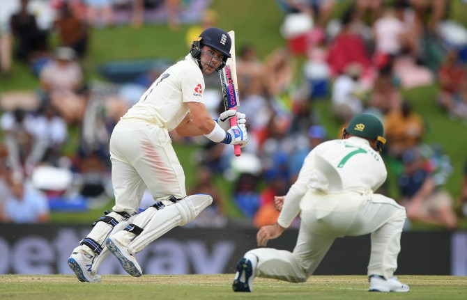 Rory Burns 77 not out South Africa England 1st Test Day 3 Centurion cricket