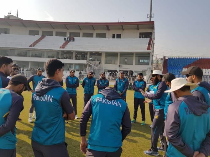 Rain could ruin the first Test between Pakistan and Sri Lanka in Rawalpindi
