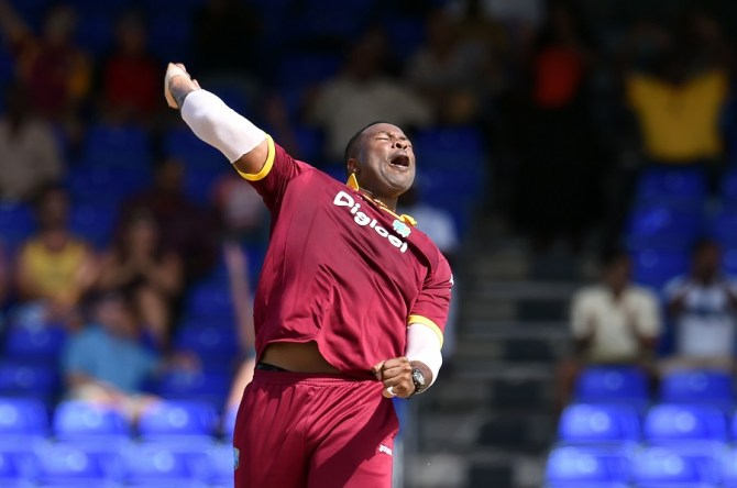 Kieron Pollard four wickets West Indies vs Ireland 2nd T20 St Kitts cricket