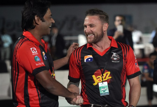 Atiq-uz-Zaman has made some shocking claims about Aaqib Javed and Brendon McCullum Lahore Qalandars Pakistan Super League PSL cricket