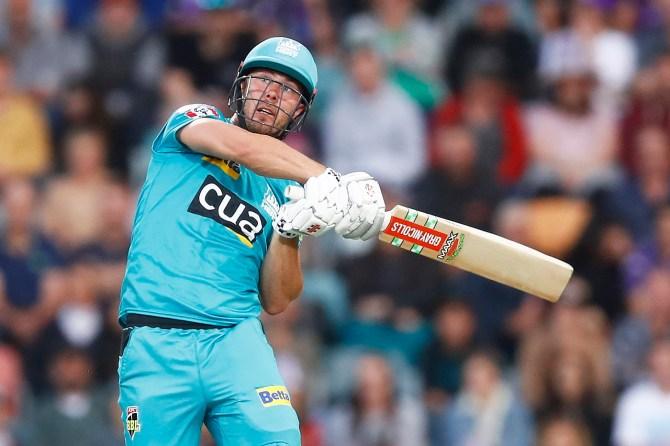 Chris Lynn 88 not out Brisbane Heat Hobart Hurricanes Big Bash League BBL 21st Match cricket