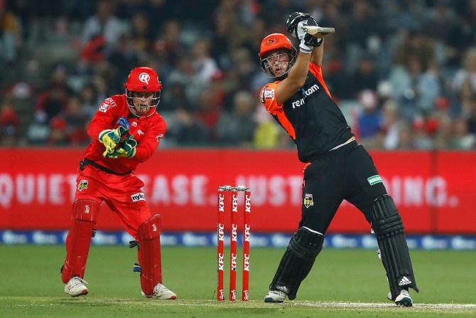 Liam Livingstone 59 Perth Scorchers Melbourne Renegades Big Bash League BBL 26th Match cricket