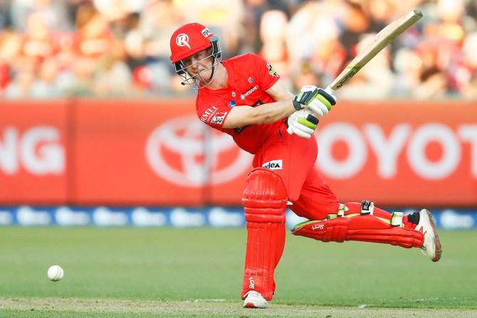 Sam Harper 52 Melbourne Renegades Sydney Thunder Big Bash League BBL 37th Match cricket