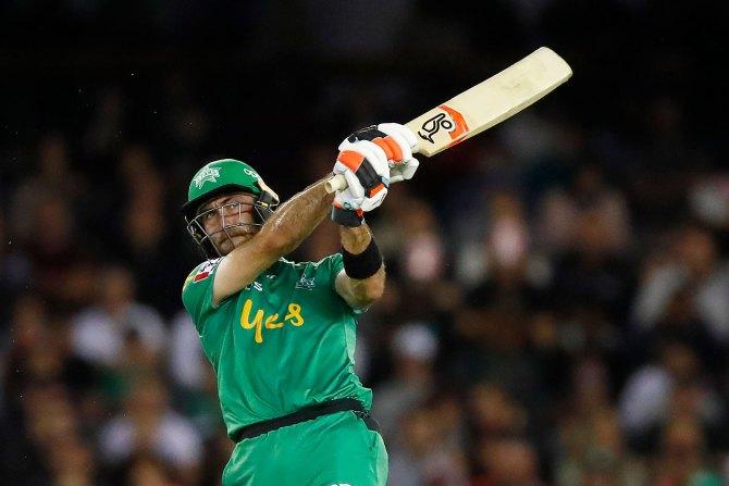 Glenn Maxwell 83 not out Melbourne Stars Melbourne Renegades Big Bash League BBL 30th Match cricket