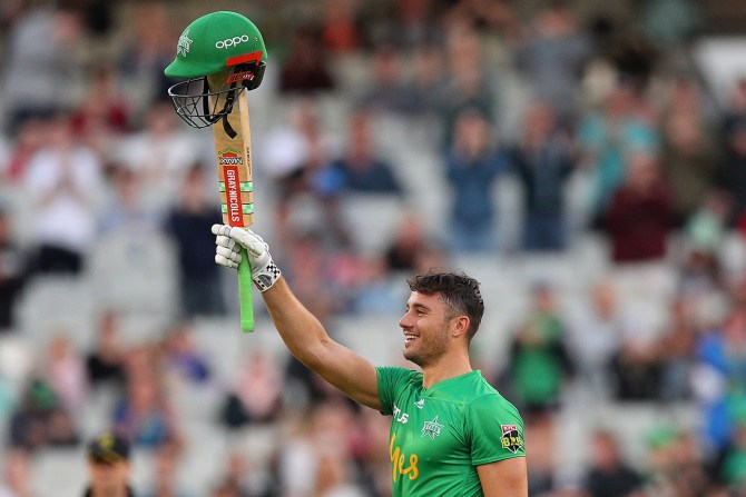 Marcus Stoinis 147 not out Melbourne Stars Sydney Sixers Big Bash League BBL 34th Match cricket