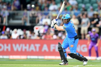 Travis Head 79 Adelaide Strikers Hobart Hurricanes Big Bash League BBL 43rd Match cricket