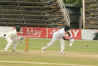 Angelo Mathews 92 not out Zimbabwe Sri Lanka 1st Test Day 3 Harare cricket