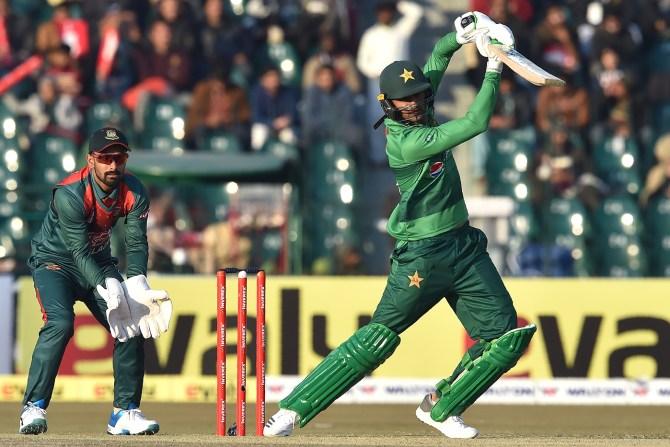 Shoaib Malik 58 not out Pakistan Bangladesh 1st T20 Lahore cricket