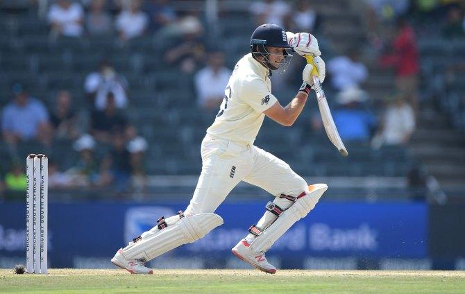 Joe Root 58 South Africa England 4th Test Day 3 Johannesburg cricket