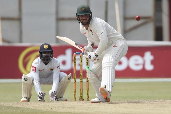 Brendan Taylor 67 Zimbabwe Sri Lanka 2nd Test Day 4 Harare cricket