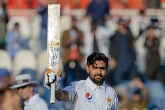 Babar Azam 143 not out Pakistan Bangladesh 1st Test Day 2 Rawalpindi cricket