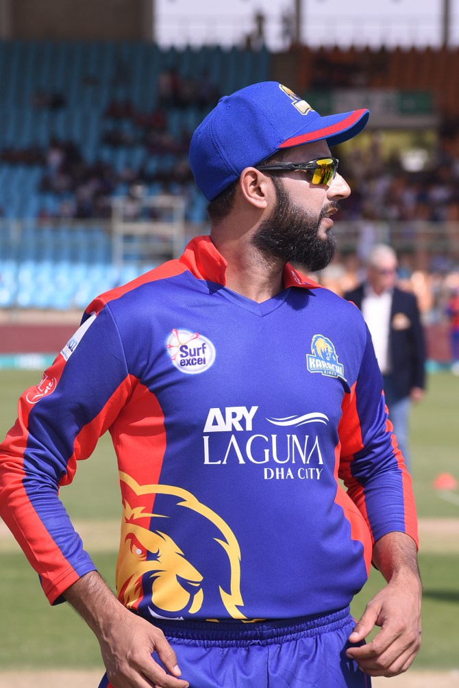 Imad Wasim reveals Sharjeel Khan will play all of the Karachi Kings' Pakistan Super League PSL matches cricket
