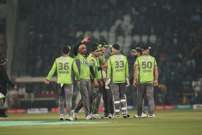Usman Khan Shinwari confident the Lahore Qalandars can finish at the top of the points table in this year's Pakistan Super League PSL cricket